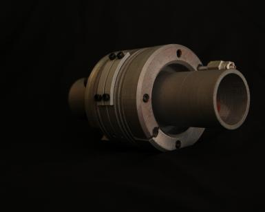 DN65 fixed to fixed ITER flange assembly.