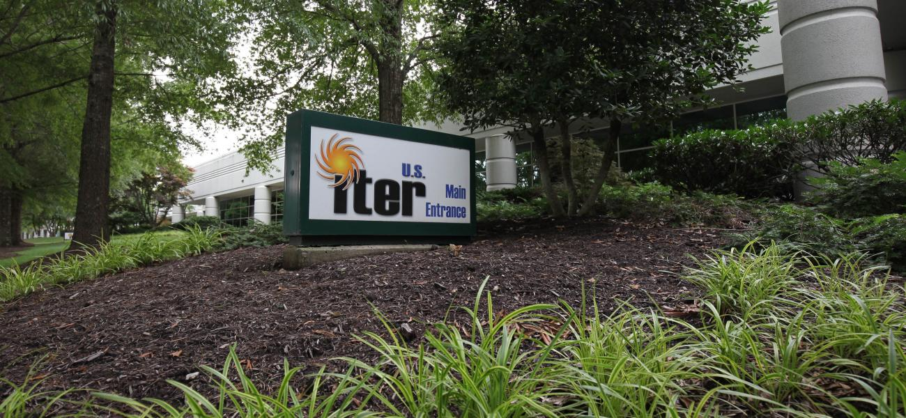 US ITER main entrance 1055 Commerce Park Oak Ridge, TN