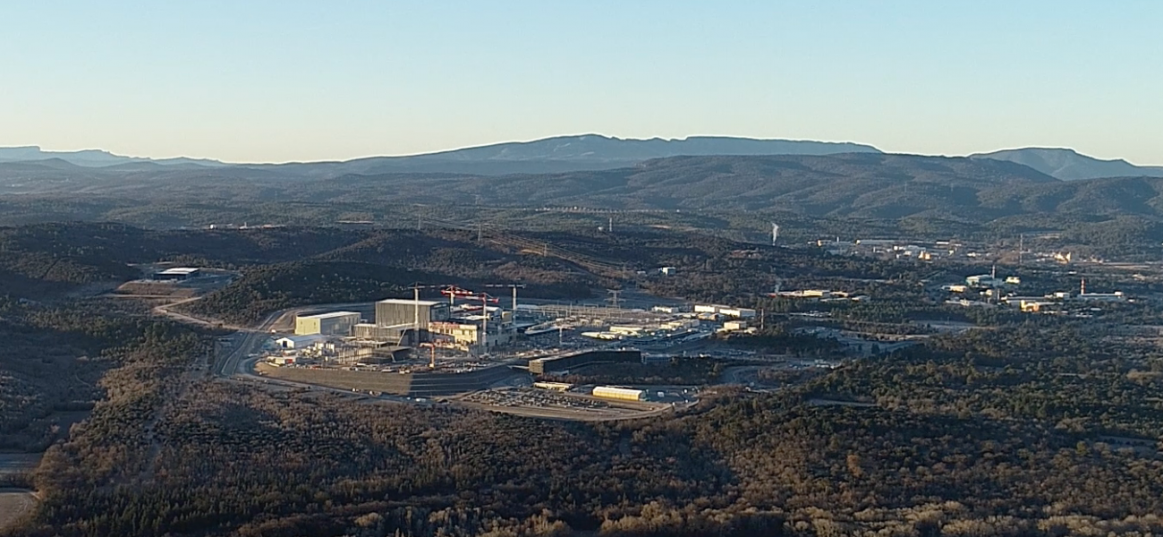 View of ITER Site by Drone February 2019